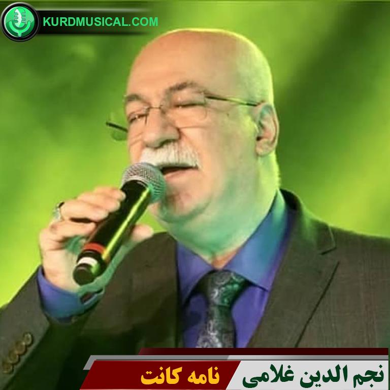 دانلود آهنگ غمگین کردی جدید نجم الدین غلامی به نام نامه کانت